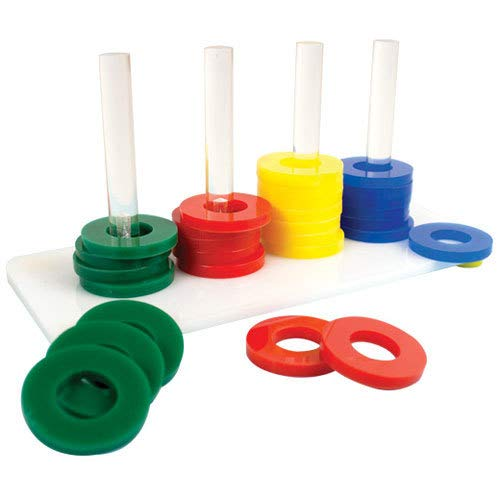 Zoo-Max Rings Game Bird Toy, Medium by Zoo-Max