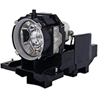 AuraBeam Professional Replacement Projector Lamp for Hitachi CP-X809 With Housing (Powered by Ushio)