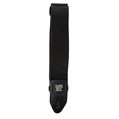 Large Product Image of Ernie Ball Black Polypro Guitar Strap