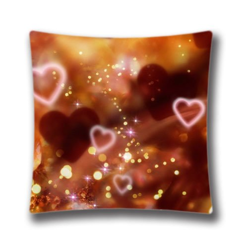 Festival Merry Christmas Gifts to Every Home Custom Unique Pillow Case Love Christmas Design Pillowcase for Sofa Throw Pillow Cover 20x20inch (Collection Computer Zippered Flap)