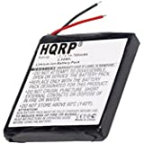 HQRP Battery for Garmin Forerunner 205 305 GPS Receiver Sport Watch 361-00026-00 Replacement + HQRP Coaster