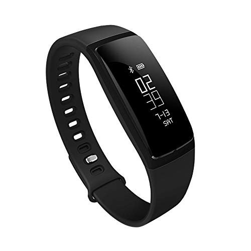 Larmly S11 Bluetooth Sport Smart Watch Wrist Bracelet Smart Band Pedometer Fitness Tracker Touch Screen(Black)