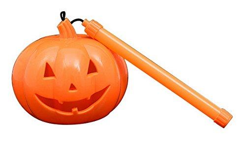 [La Vogue Kids Funny Sound Maker Toy Halloween Hand-Raise Portable Pumpkin Lantern Light Orange] (The Devil Wears Prada Costume Halloween)