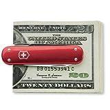 Victorinox 53739 Money Clip Red Alox