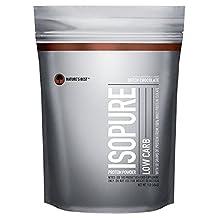 Isopure Low Carb Protein Powder, Dutch Chocolate, 1 Pound