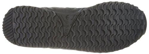Adidas Originals Zx 700 Ejecución de la zapatilla de deporte estilo de vida, negro / gris sólido l Negro/Negro/Negro