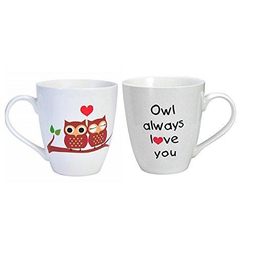 Pfaltzgraff Everyday Owl Always Love You Large Coffee Mug - 18 Oz