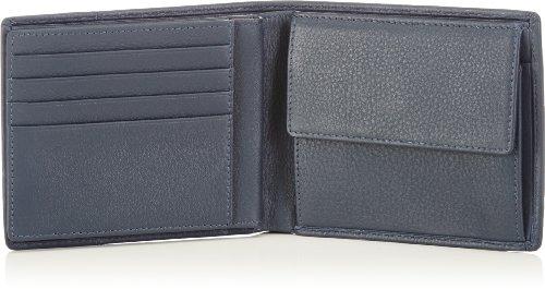 bugatti Bags Manhattan 49111705 Unisex-Erwachsene Geldbörsen 12x9x1 cm (B x H x T) Blau (Blau 05) abtRF