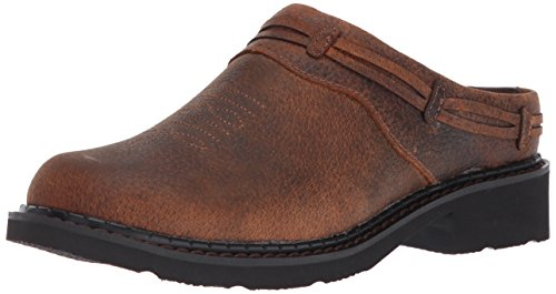 Roper Women's Laces Clog, Brown, 10.5 D US