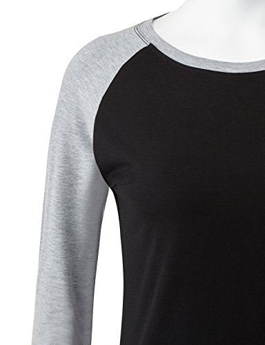 REGNA X women plus size workout 2/3 sleeve football Top Gray