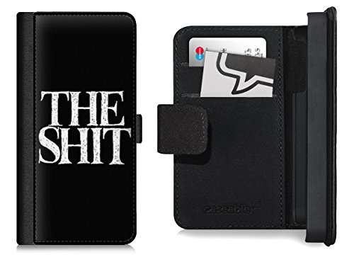 Design Flip Case für das iPhone 6 Plus - ''The Shit Black'' von The Shit Shop