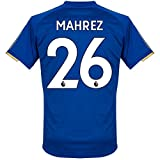 Leicester City Home Mahrez Jersey 2017 / 2018 (Authentic EPL Printing) - M