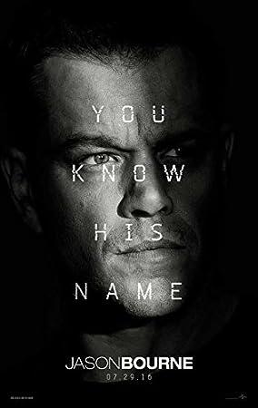 Jason Bourne Classic Movie Poster Art Print A0 A1 A2 A3 A4 Maxi