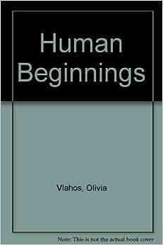 Book Human Beginnings