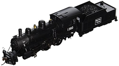 Bachmann Industries Alco 2-6-0 DCC Sound Value Equipped HO Scale #1360 Boston and Maine Locomotive -  51811
