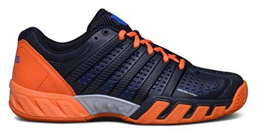 K-SWISS Bigshot Claro 2.5 Hombre Zapato - Negro/Naranja, hombre, 26 EU Negro/Naranja