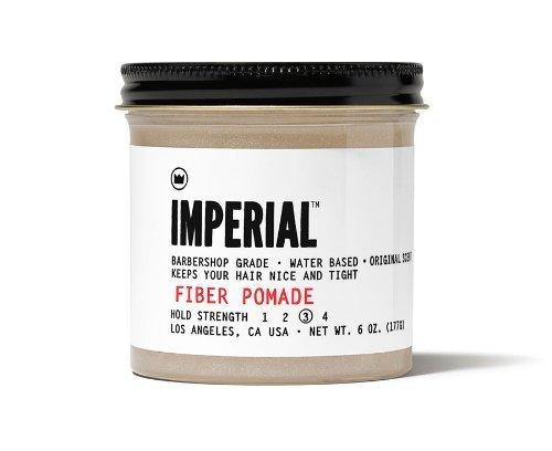 Imperial Barber Products Fiber Pomade 6oz By Imperial Barber Products Buy Online In El Salvador At Elsalvador Desertcart Com Productid 16950023