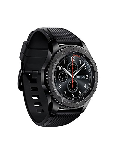 Click to buy SAMSUNG GEAR S3 FRONTIER Smartwatch 46MM w/ Small Band - Dark Gray (Certified Refurbished) - From only $249.99