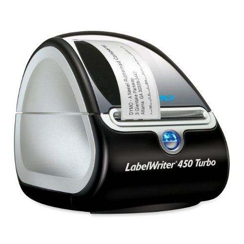 (Dymo LabelWriter 450 Turbo Direct Thermal Printer - Monochrome - Label)