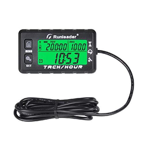 Tarente 2inches Car Digital Tachometer RPM Gauge Blue Display ...