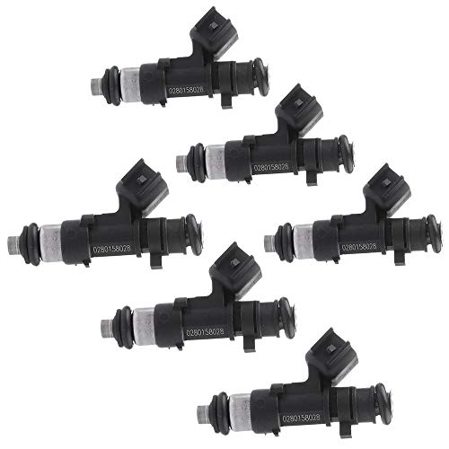 ROADFAR Fuel Injectors Parts, 4 Hole Fuel Injector Kits Fit Chrysler 300 Town Country Sebring Pacifica,Dodge Avenger Challenger Charger Journey Grand Caravan Magnum Nitro Stratus 0280158028,Set of ()