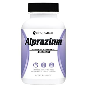 41TNm4hUucL. SS300  - Alprazium - All Natural Stress Relief  Anti-Anxiety Supplement for Promoting Better Mood Relaxation Calming  fast Acting Formula to Reduce Stress Anxiety Panic Attacks (30 tablets)