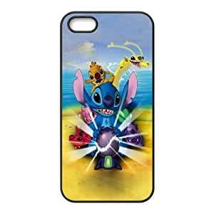 Chaap And High Quality Phone Case For Apple Iphone 5 5S Cases -Stitch - Ohana Means Family-LiShuangD Store Case 13