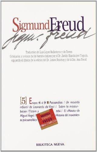 Sigmund Freud - Tomo 5 (Spanish Edition) by Biblioteca Nueva