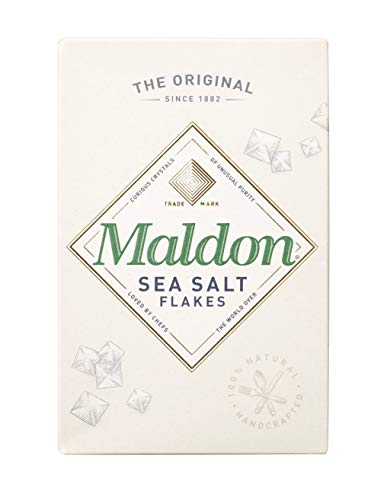 Maldon Sea Salt Flakes, 8.5 ounce Box (Finish Caramel Medium)