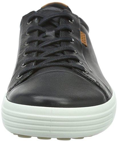 Ecco Mens Morbida Sneaker Nero 7 Di Moda