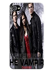 Candy color tpu skin case cover with movie stars for iphone4/4s of The Vampire Diarie in Fashion E-Mall by supermalls