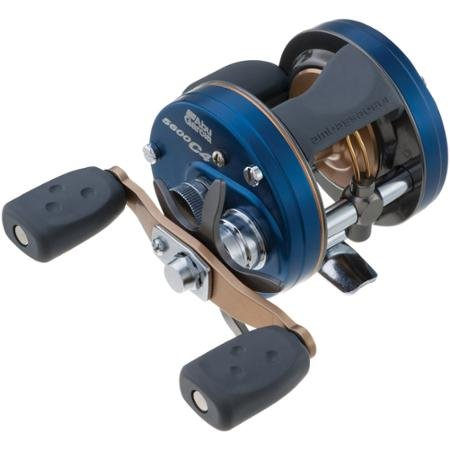 Right Retrieve 6600 (Mono: 12lb/320yd) Abu Garcia C4 Round Baitcast Reel by Abu Garcia