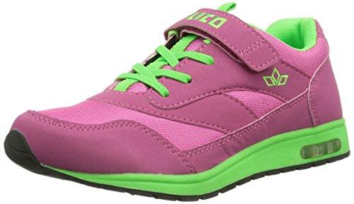 Lico Cool VS - zapatilla deportiva de material sintético niña Pink (pink/grün)
