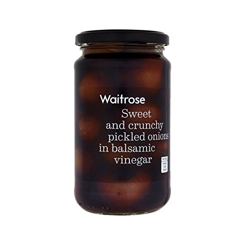 Balsamic Onions Waitrose 454g - Pack of 2