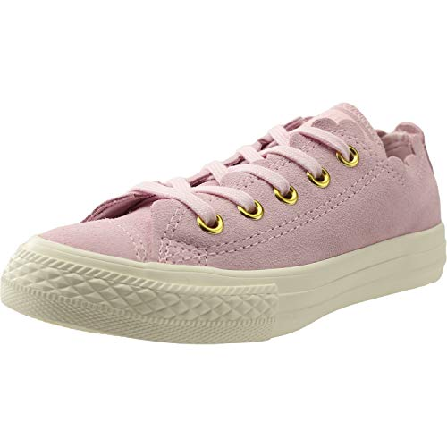 Zapatos Star Rosa Espuma All Converse Taylor Chuck Entrenadores Júnior Ante Thrills Frilly Ox Sq87Ft8