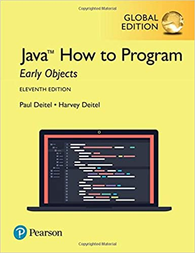 Descargar PDF Gratis Java How To Program, Early Objects, Global Edition