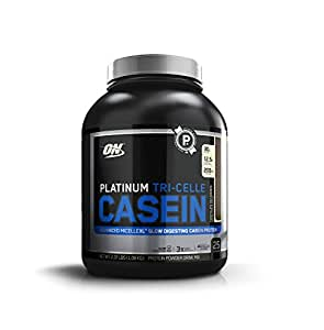 Optimum Nutrition Platinum Tri-Celle Casein, Chocolate Decadence, 2.37 Pound