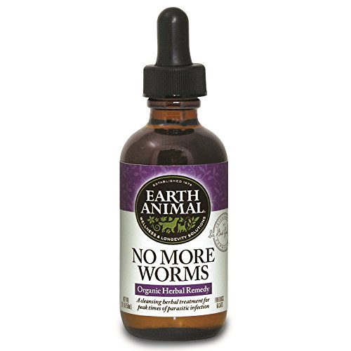 Earth Animal No More Worms Dog Supplement 2 oz.