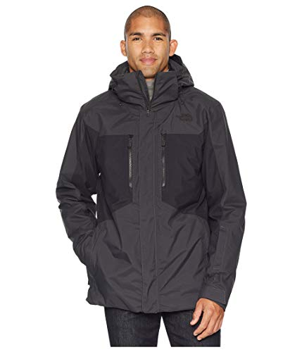 The North Face Men's Clement Triclimate Jacket - Asphalt Grey & TNF Black - L