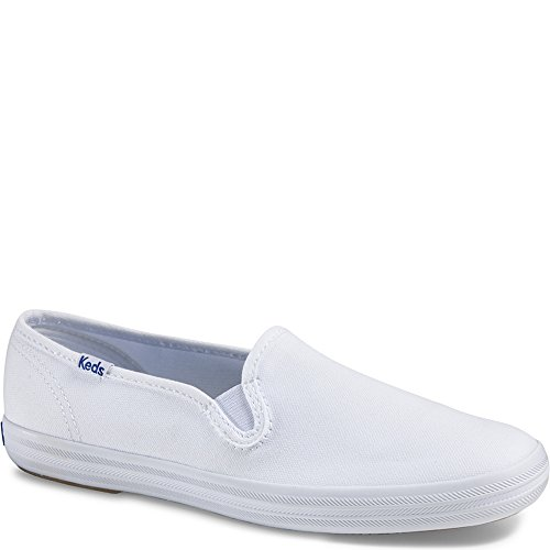 n Original Canvas Slip-On Sneaker,White Canvas,8.5 W US ()