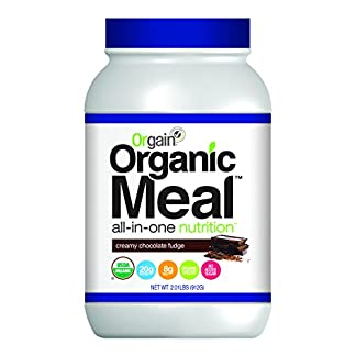 Organic Meal Replacement by Orgain, 2 Flavors, 2.01 lb, 1 Count