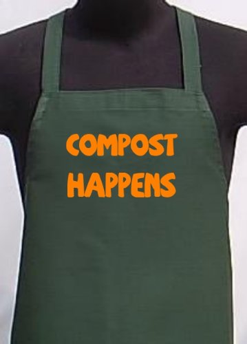 Compost Happens Garden Aprons For Planting Outdoors Or Inside