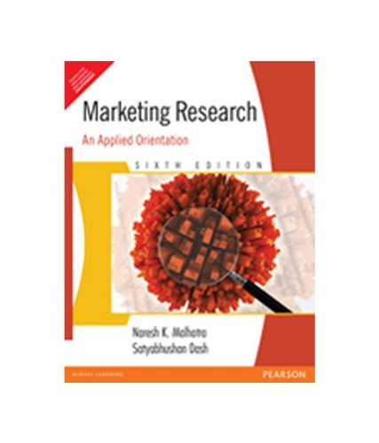 Marketing Research An Applied Orientation