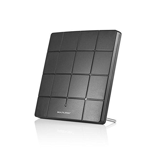 Antena Interna Para Tv Digital Square Vhf Uhf Hd Re206 Multilaser