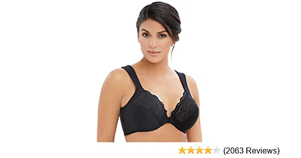 ca3809c2a3 Glamorise Women s Plus Size Full Coverage at Amazon Women s Clothing store   Bras