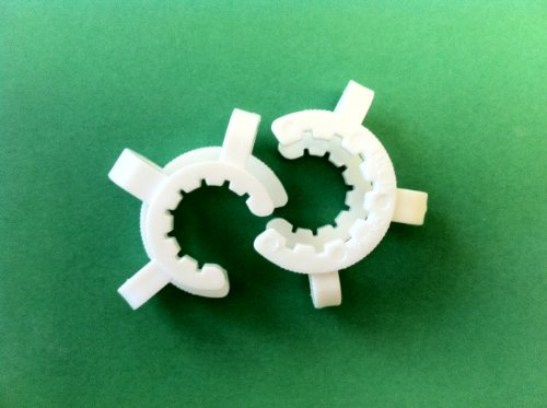 One Pair 18mm Plastic K-Clips For Glass Adapters & Fittings