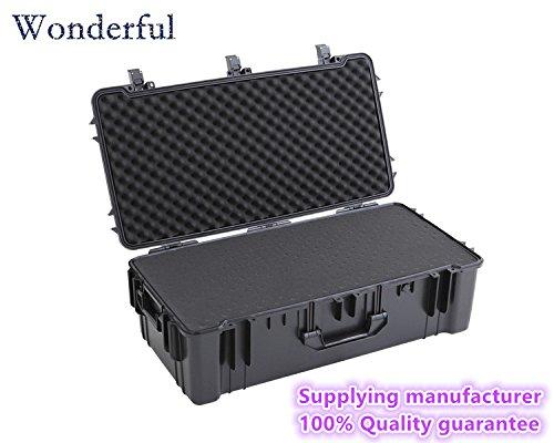 Wonderful pc-9930 Watertight Cases使用ABS素材、高強度と影響抵抗、絶対密封防水、防塵for yourカメラと機器エスコート(ブラック)   B01EJE4R06