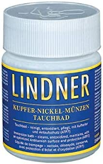 Coin dip Copper-Nickel Lindner 8098
