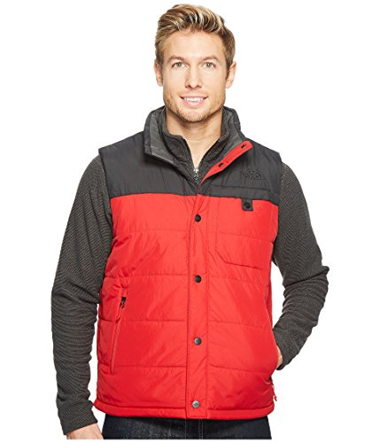 The North Face Men's Harway Vest Red/Asphalt Grey (Large)
