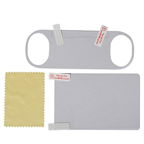 Timorn HD Clear LCD Front and Back Screen Protector Film Surface Guard Cover for Psvita 2000 with Wiper (2sets)